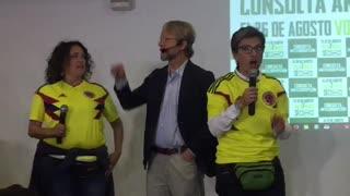 Declaraciones de Claudia López después de los resultados