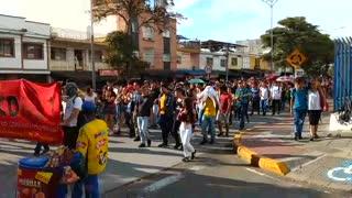 Marcha estudiantes Bucaramanga