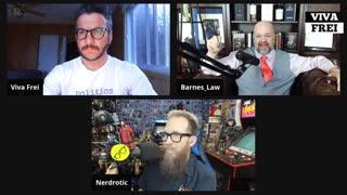 Sidebar with Nerdrotic! Viva & Barnes Live Stream
