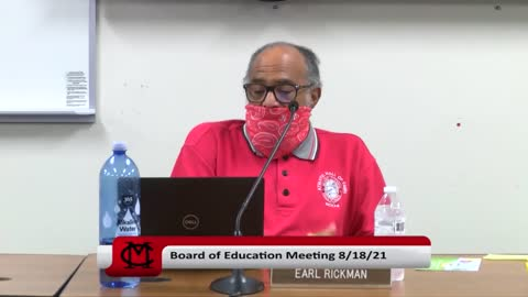 Mount Clemens Community Schools Board of Education Mask Mandate