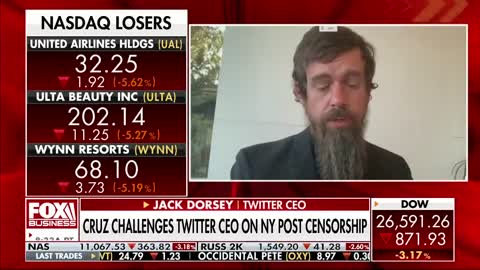 'Mr. Dorsey, who the hell elected you ' Cruz slams Twitter for blocking NY Post