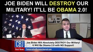 Joe Biden Will Destroy Our Military! It'll Be Obama 2.0!