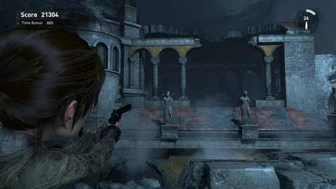 Rise of the Tomb Raider score attack, Prophet's Blessing, Defaced challenge