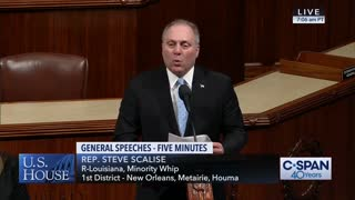 Rep. Steve Scalise Urges Support of a Discharge Petition to End Infanticide