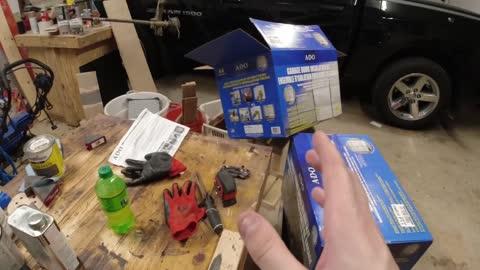 Installing Insulation for a Garage Door