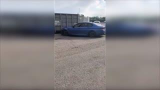 Idiot BMW drivers! Crazy people