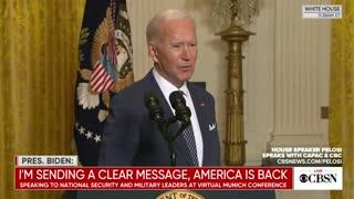 Joe Biden On Texas Storm Disaster