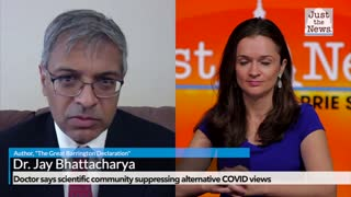 Doctor says scientific community suppressing alternative COVID views