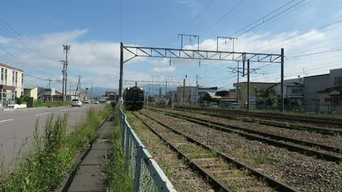 Diesel cars from the South Hokkaido line