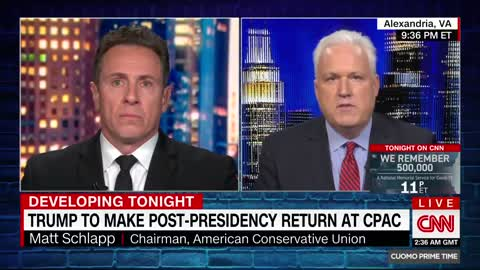 CPAC Chair Gets Into Explosive Battle With CNN's Cuomo Over Trump Invite