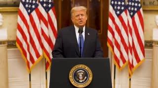 Trump's Full Farewell Address