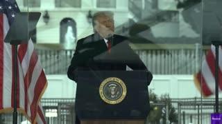 Trump: Peacefully and Patriotically