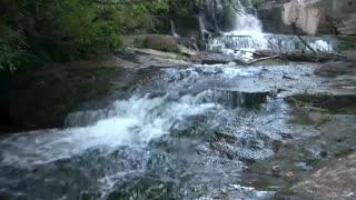 Relaxing Night Waterfall Sounds