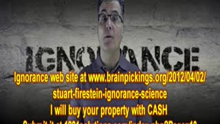 IGNORANCE wants to BUY YOUR Property