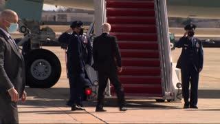 Joe Biden Fall 3 Times