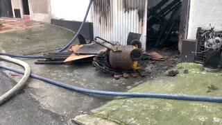 Incendio se registra en el barrio las Mejoras Públicas