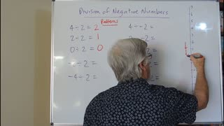 Math Negatives 04 Division also called Directed Numbers Mostly for Years/Grade 7, 8 and 9