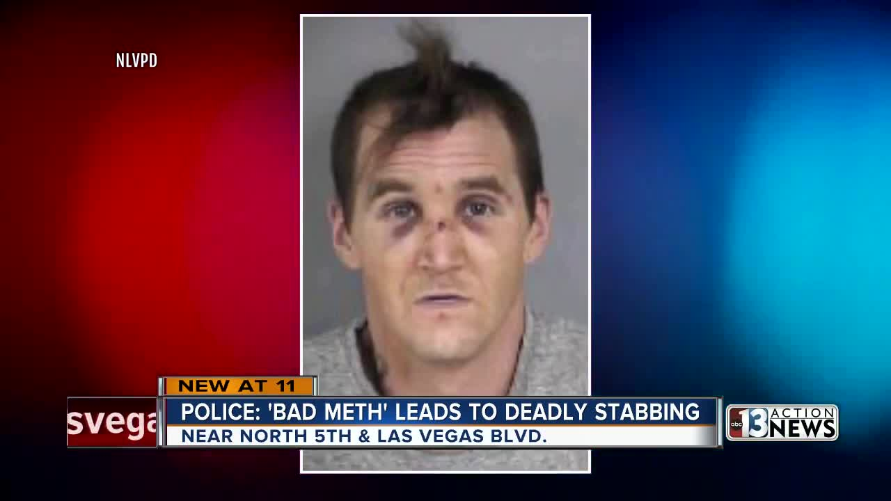 Police: 'Bad meth' leads to deadly stabbing