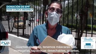 Entrega de ayudas en Cartagena