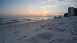 Sunset At The Beach Timelapse