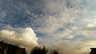 Time Lapse Sky Effects Video Background Clouds Moving Timelapse Music