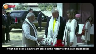 President Trump visits India! Highlights