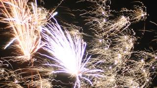 Exposure control fireworks