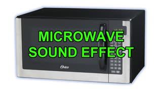 Microwave sound effect copyright free
