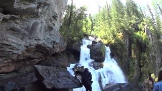"""""""Big Ulanski"""" waterfall"""