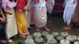Funny festival moment