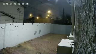 Something on my security camera