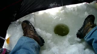 first time ice fishing in two years