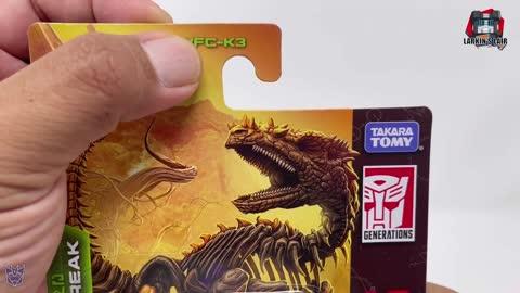 Transformers Kingdom Core Predacon Vertebreak Review WFC-K3 (Retail Release), Larkin's Lair