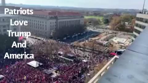 Patriots love Trump and America