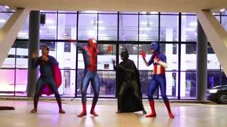 Superhero Dance Routine