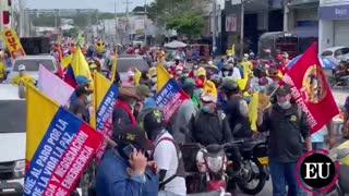 1 de mayo: marchas del Día del Trabajo en Cartagena