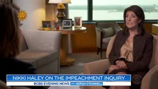 Nikki Haley: Trump won't be impeached or removed from office