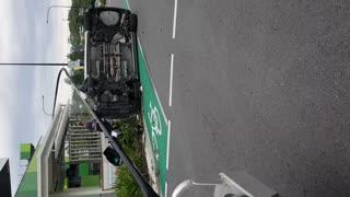 Erratic Driving Incident Goes Sideways