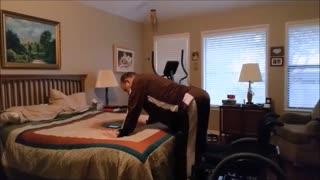 Wheelchair squats