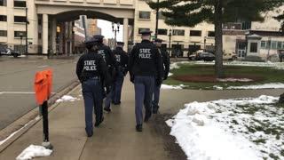 Michigan State Police Lansing Michigan 1/17/2021