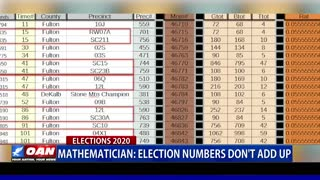 Mathematician: Election numbers don't add up