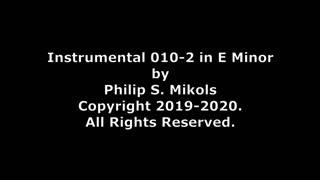 Instrumental 010-2 in E Minor