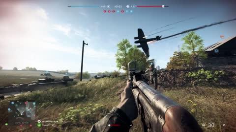Bomber Acrobatics Battlefield 5
