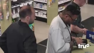 Impractical Jokers - Security Guard Throws Down