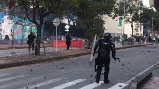 protestas de este sábado en Bucaramanga