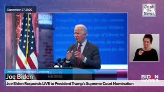 Biden SCOTUS Nomination Reax