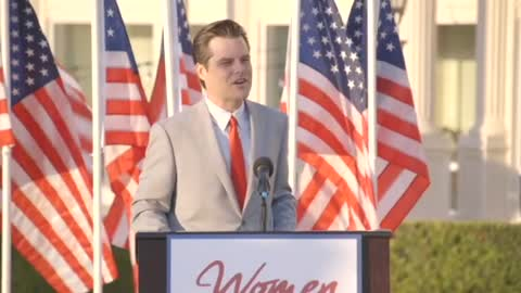 Full Matt Gaetz Speech, Florida, April 2021