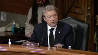 DEC 2020 COURTS NEVER LOOKED AT THE FACTS! Rand Paul US Senate Hearing.mp4