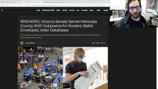 Arizona Senate Serves Maricopa County With Expanded Subpoena