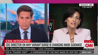 CNN Host Asks Why Vaccinated People Have To Wear Masks